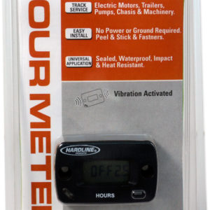 Resettable Hour Meter for Outboard & Inboard Boat Engines